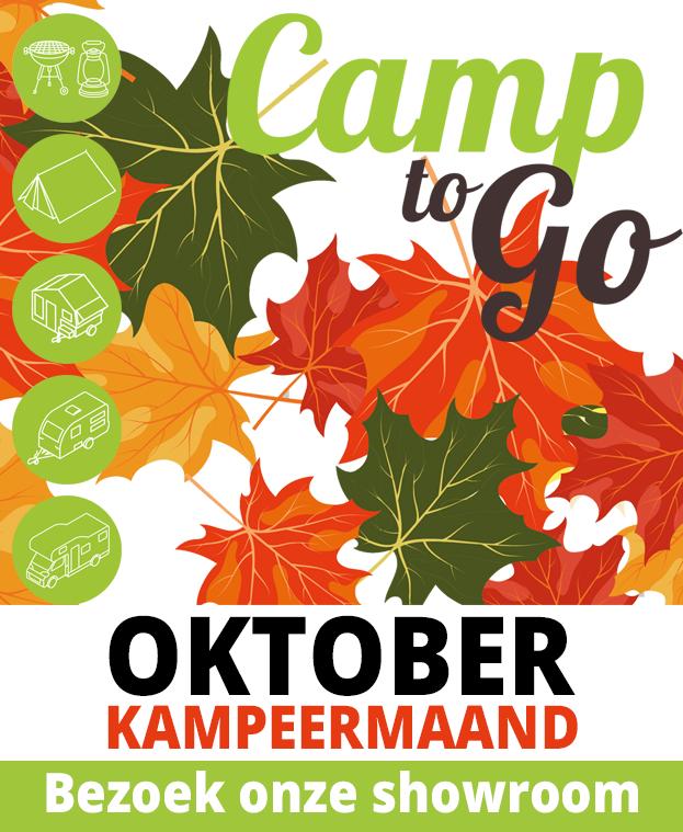 Oktober kampeermaand